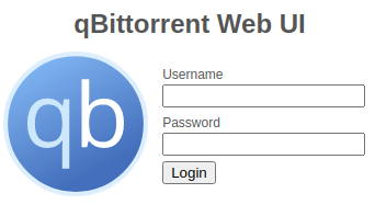 qBittorrent WebUI